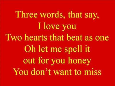Billy Gilman - Three Words, Two Hearts, One Kiss