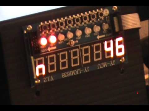 Serially Interfaced, 8-Digit LED Display Drivers