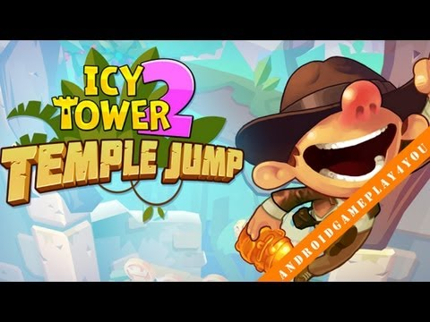 Icy Tower 2 Temple Jump Android Game Gameplay