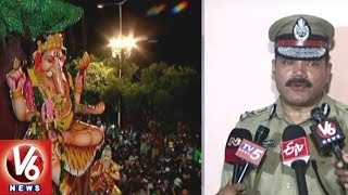Hyderabad CP Anjani Kumar Speaks On Ganesh Immersion and Muharram Security Arrangements