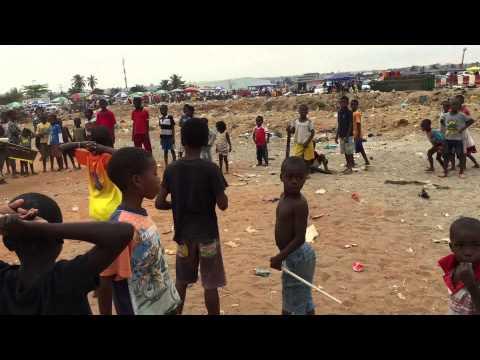 Launching the Quest UAV in Luanda, Angola.