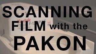Scanning Film with Pakon F135+