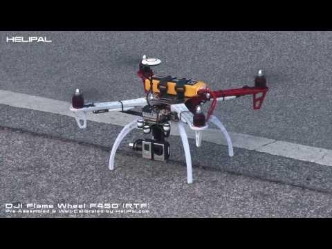 DJI Flame Wheel F450 (RTF) - HeliPal.com