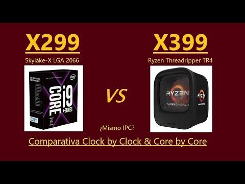 Núcleos de AMD x399 vs Núcleos de Intel x299: ¿Qué es el IPC y qué tiene que ver con la frecuencia?
