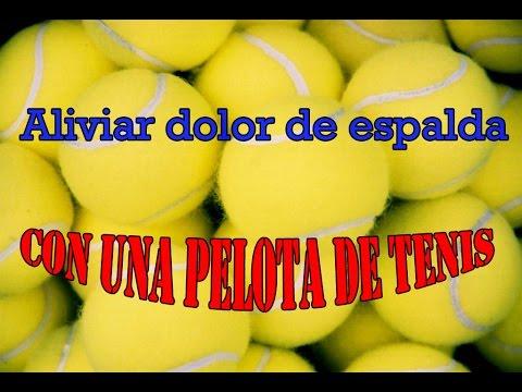 Pelota De Tenis Para Eliminar El Dolor De Ciatica.