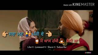 Kali jotta  Nikka zaildar 2 whats app status video