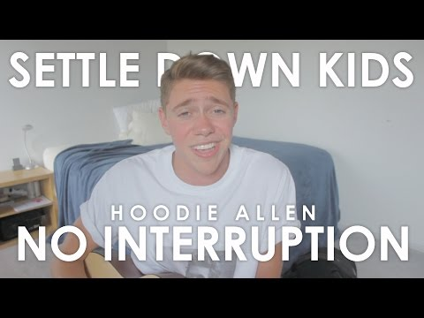 Hoodie Allen - No Interruption (Cover by Jonah Green)