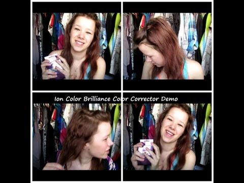 Ion Color Brilliance Color Corrector Demo and Review