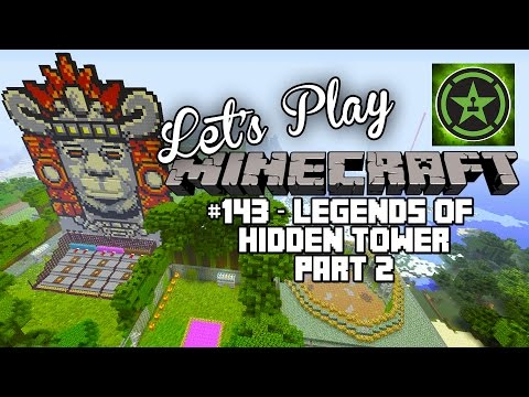 Lets Play Minecraft Episode 143 Legends of the Hidden Tower Part 2