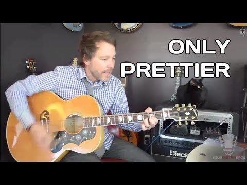 Only Prettier By Miranda Lambert - Easy Version Guitar Lesson video