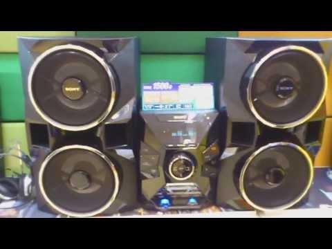 Unboxing (desembalando) MHC-GPX77