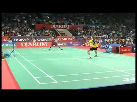 QF - MS - Peter Hoeg Gade vs. Taufik Hidayat - 2011 Djarum Indonesia Open