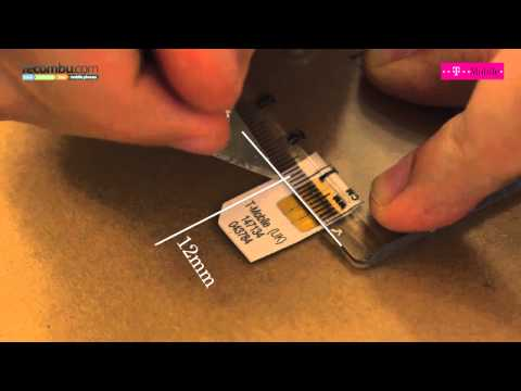How to make a micro SIM card