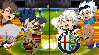 Inazuma Eleven Summer League ~ Porsche FC vs Alfa Romeo FC ※Pokemon Anchor※