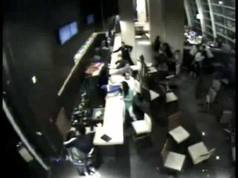 Terremoto Chile 2010 (Video inédito de hotel de Valdivia... impresionante) Chile Earthquake 2010