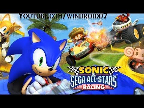 Sonic & SEGA All-Stars Racing Para Android [Apk + Datos SD]