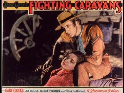 CARAVANAS BELICAS CAMINO DEL OESTE (FIGHTING CARAVANS, 1931, Full Movie, Spanish, Cinetel)