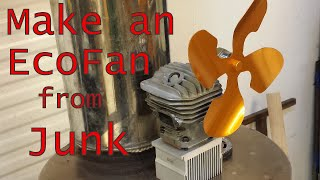 Make a Stove Top EcoFan from Junk