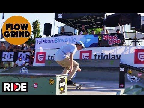Flowgrind International 2018 - Street Finals & Double Set Best Trick