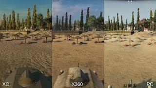 World of Tanks: Xbox One vs Xbox 360 vs PC Comparison