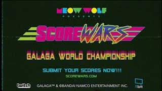 Score Wars: Galaga World Championship !