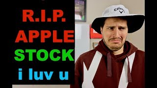 R.I.P. APPLE STOCK (1980-2018)