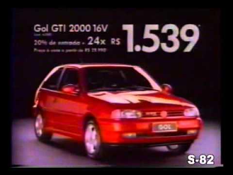 PROPAGANDA COMERCIAL VOLKSWAGEN VW GOL GTI 16v BOLINHA 1997 BRASIL BRAZIL - YouTube