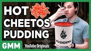 Blind Pudding Taste Test Ft. Chandler Riggs