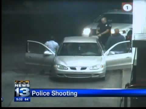 police shot, killed a man caught on tape
