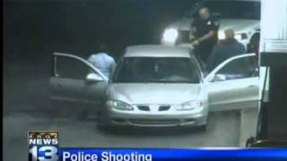 police shot, killed a man caught on video