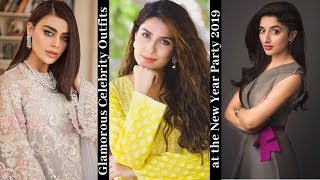 Glamorous Celebrity Outfits at the New Year Party 2019 | SuprTop