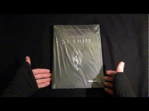 Unboxing & Mini-Review [Offizielles Lösungsbuch - The Elder Scrolls V : Skyrim] german