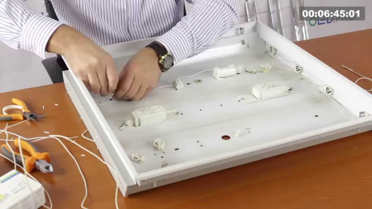 Как отремонтировать светодиодный светильник своими руками 562