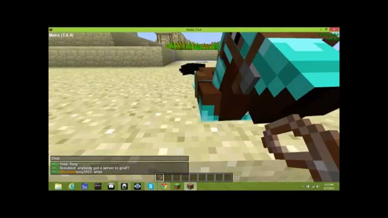 how to make a unicorn statue in minecraft