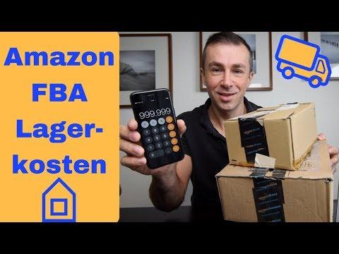 Versand durch Amazon FBA Lagerkosten, Gebühren für Übergröße vor dem Verkauf