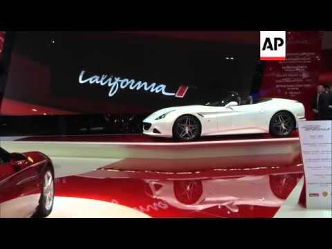 Ferrari unveil California T and Apple CarPlay system for iPhones