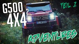JP Performance - Mercedes G500 4x4² Adventures | Teil 1