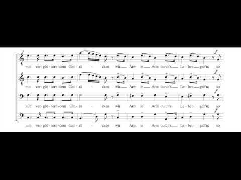 Шуберт Франц - Jünglingswonne, Op. 17, No. 1