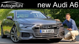 Audi A6 FULL REVIEW all-new C8 2019 test driven with Autobahn- Autogefühl