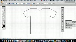 How to Draw a T-Shirt in Illustrator : Using Adobe Illustrator