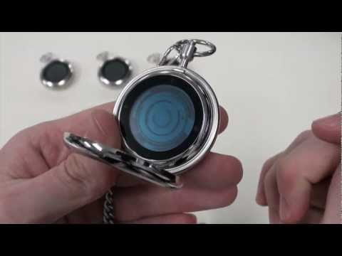 Kisai Rogue Touch LCD Touch Screen Pocket Watch with LED Backlighting From Tokyoflash Japan