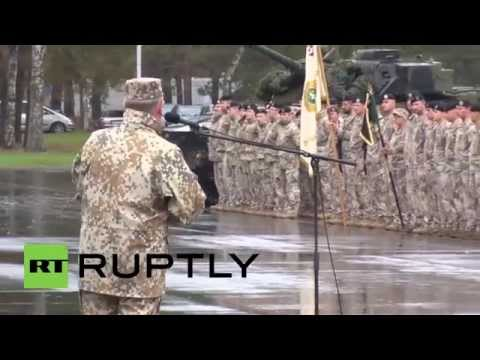 Latvia: NATO-led 'Silver Arrow 2015' exercise enters second week