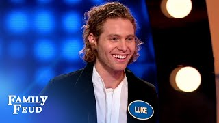 This edible underwear tastes like... | Celebrity Family Feud