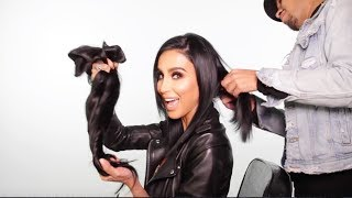 All About Lilly Hair Clip in Extensions + How to Apply and Blend Hair Extensions with Short Hair!!