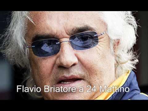 """Flavio Briatore """"Un voto a Monti? 5″ a 24 Mattino – Radio 24"""