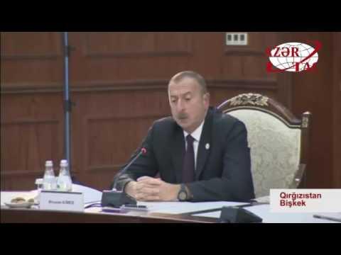 Azərbaycan Prezidenti İlham Əliyev Bişkekdə MDB Dövlət Başçıları Şurasının iclasında iştirak edib