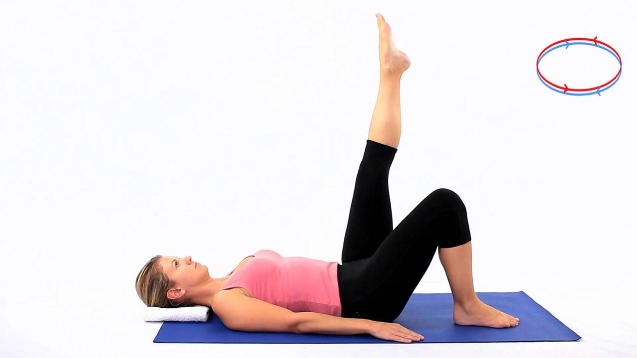 Single Leg Stretch Pilates Mat Exercise Single Leg Stretch Pilates Mat Exercise new images