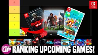 TIER RANKING New Nintendo Switch UPCOMING GAMES!