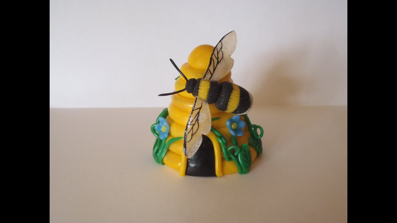 Polymer Clay   The Bee