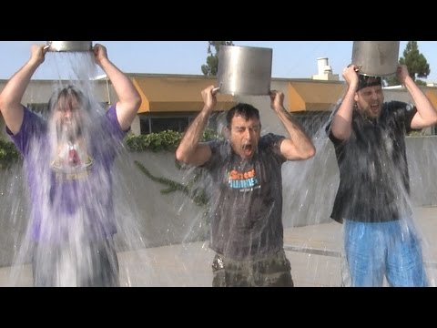 Screen Junkies ALS Ice Bucket Challenge!